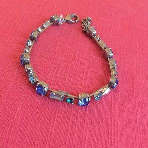 Sorrelli Thin Crystal Bracelet